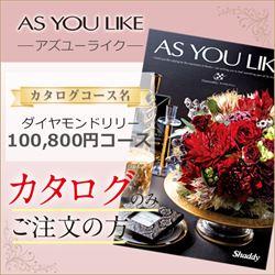 アズユーライク ダイヤモンドリリー(100800円コース)カタログのみ【合わせて30部以上ご購入の方専用】