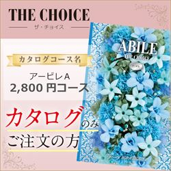 ザ・チョイス アービレA(2800円コース)カタログのみ【合わせて30部以上ご購入の方専用】