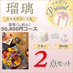 瑠璃 紫苑(しおん)(50800円コース)2点セット【合わせて30部以上ご購入の方専用】
